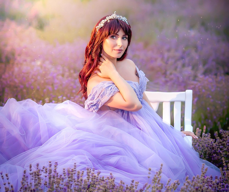 Lavender extravaganza for Svetlana